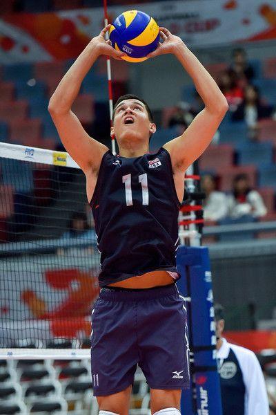 Micah Christenson Photos Photos Usa V Venezuela Fivb Men S Volleyball World Cup Japan 2015 Mens Volleyball Volleyball Poses Usa Volleyball Team