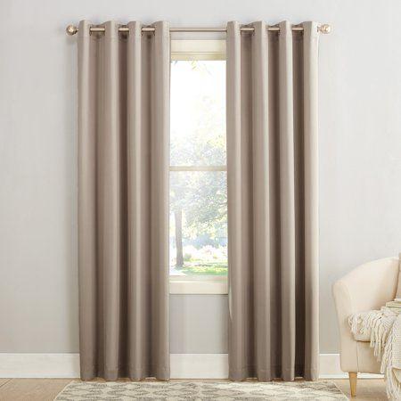 Sun Zero Madison Room Darkening Grommet Curtain Panel In 2020