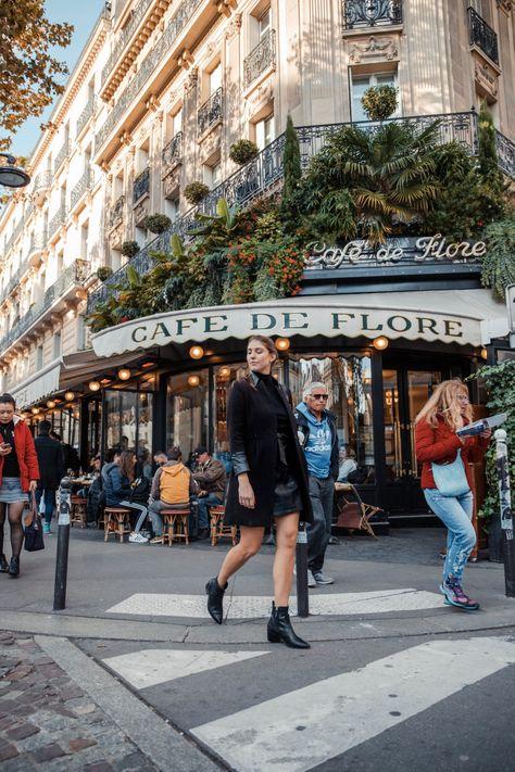 The Best Paris Instagram Spots | 15 Parisian Shots You Can't Miss: Cafe De Flore Dana Berez