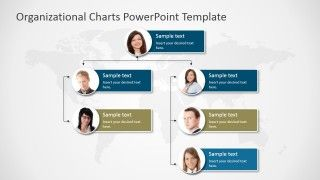 Organizational Charts Powerpoint Template Slidemodel Organizational Chart Org Chart Powerpoint Templates