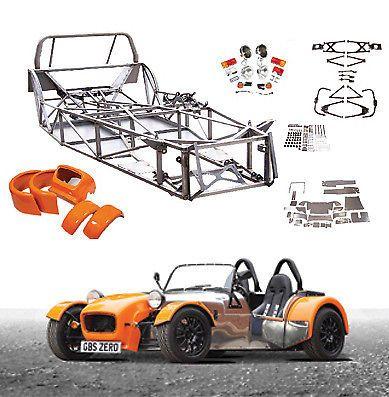 Gbs Zero Kit Car Project Ford Zetec 2 0 Caterham Kitcar