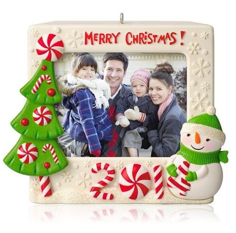 2014 Merry Christmas Recordable Photo Holder Hallmark Ornament