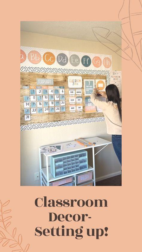 Calm Colors Classroom Decor