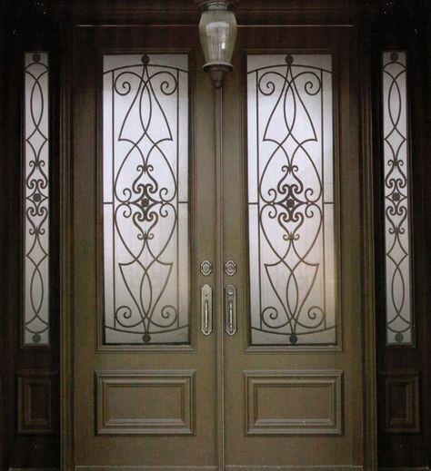 Decorative Wrought Iron Front Doors Inserts Toronto 416 887