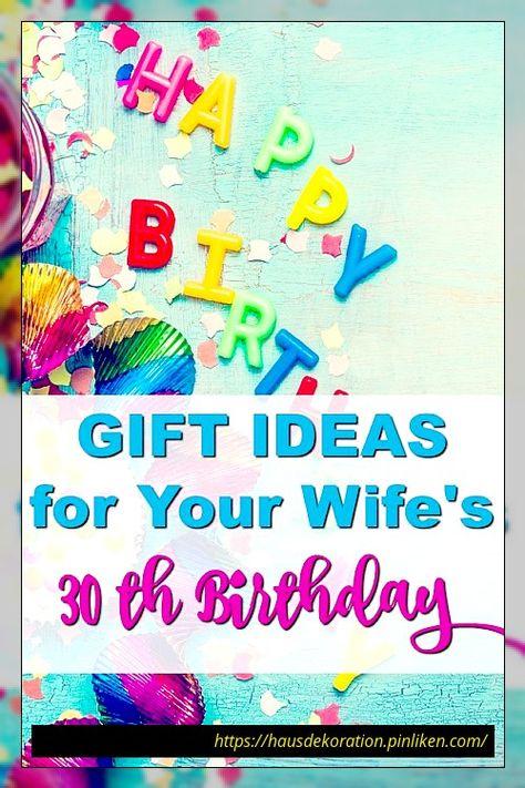 20 Der Besten Ideen Zum 30 Geburtstag Geschenke Fur Die Frau 20