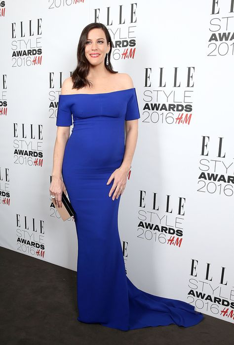 Liv Tyler Cradles Her Baby Bump on the Red Carpet, Hearts Collectively Swell
