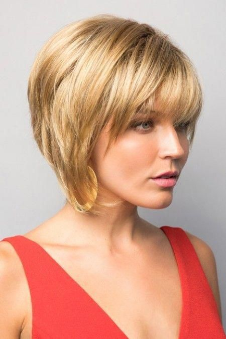 A Bob Haircut Is A Fairly Decent And Relatively Low Maintenance Solution For Fine Hair A Collarbone Chin Thick Hair Styles Wavy Bob Hairstyles Bob Hairstyles