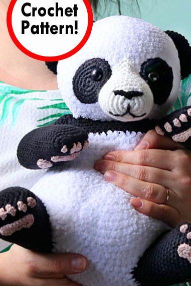 Irene Strange - Crochet Designer (With images)   Crochet panda ...   572x381