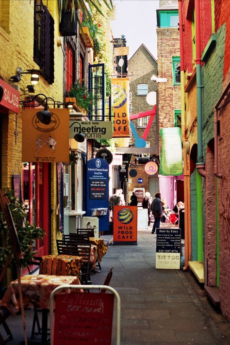 Neal's Yard, Seven Dials. London's more colorful than you may think.