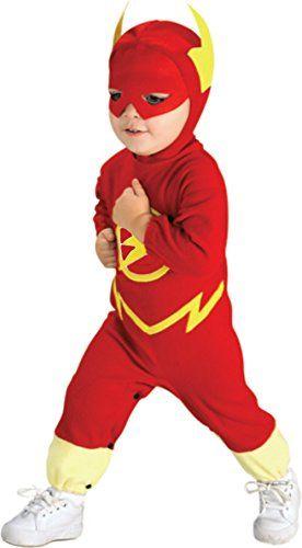 DC Comics Boys Flash Logo Bodysuit Red Clothing Baby Boys