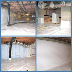 Crawl Space Encapsulation Vapor Barriers For Your Next Job Americover Diy Crawlspace Mobile Home Renovations Home Remodeling