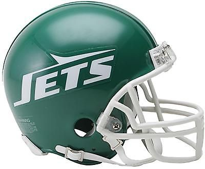 d37359d4 Riddell NY Jets Throwback 1978 - 1989 VSR4 Mini Football Helmet ...