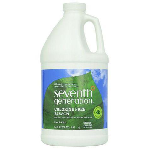 Seventh Generation Free Clear Non Chlorine Bleach 64fl Oz 218096