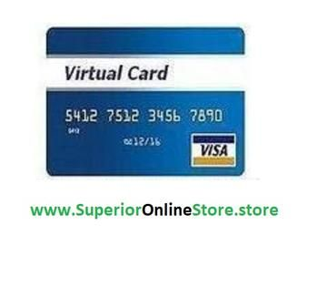 Buy Usa Virtual Credit Card Vcc For Paypal Account Adword Ebay