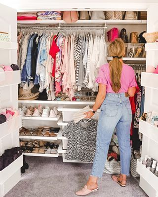 Optimizing Closet Space With The Container Store How To Organize