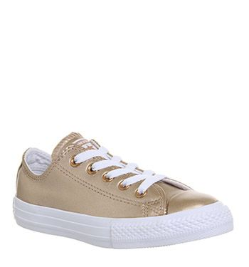 All Star Ox Leather Kids in 2019 | Converse all star ox ...