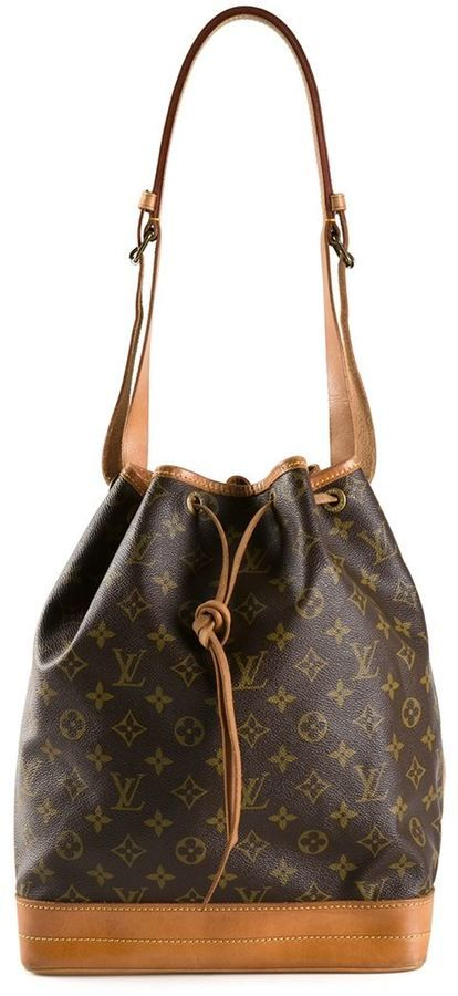 77bb22e52344 Louis Vuitton Vintage  Noe  bucket shoulder bag on shopstyle.com ...