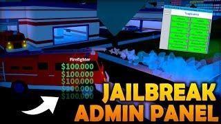 Roblox Jailbreak Hack - Admin Panel Exploit on Jailbreak
