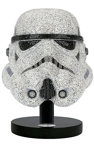 3ac412f68d11 Swarovski Crystal, Myriad Star Wars Stormtrooper Helmet, Limited Edition  Sculpture