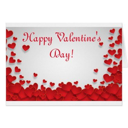 Happy Valentine S Day Greeting Card Zazzle Com Valentine S Day