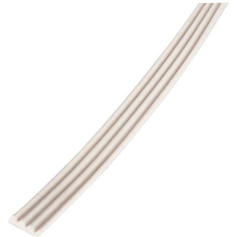 Joint tubulaire noir adhésif en caoutchouc - 7,50 m - Ellen - S16693 - joint porte fenetre pvc