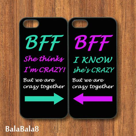 BFF iPhone 5 and 4 cases. also it is an ipod 4 case