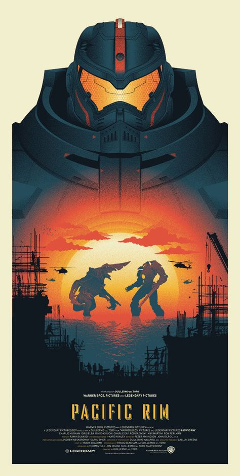 Pacific Rim - Created by Guillaume Morellec