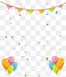 Hand Painted Birthday Party Decorations Birthday Clipart