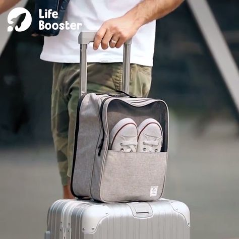 Portable Travel Shoe Bag 😍 It can be used in your ✅travel, ✅business trip, ✅camping, ✅gym training