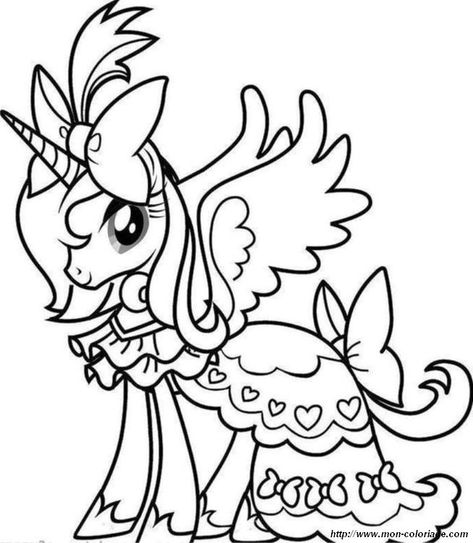 Princess Celestia jumping coloring pages coloring Pinterest - best of simple my little pony coloring pages