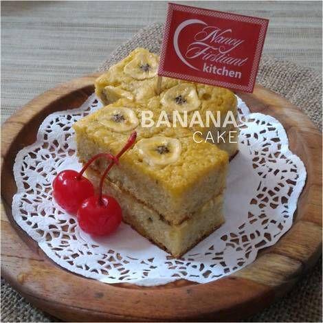 Resep Cake Pisang Kepok Oleh Nancy Firstiant S Kitchen Resep Makanan Kue Pisang Resep