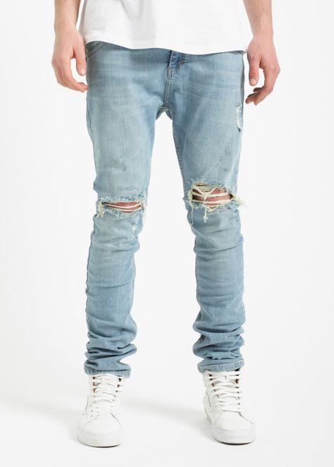 VSCT Clubwear Noah Slim Cuffed Jeans