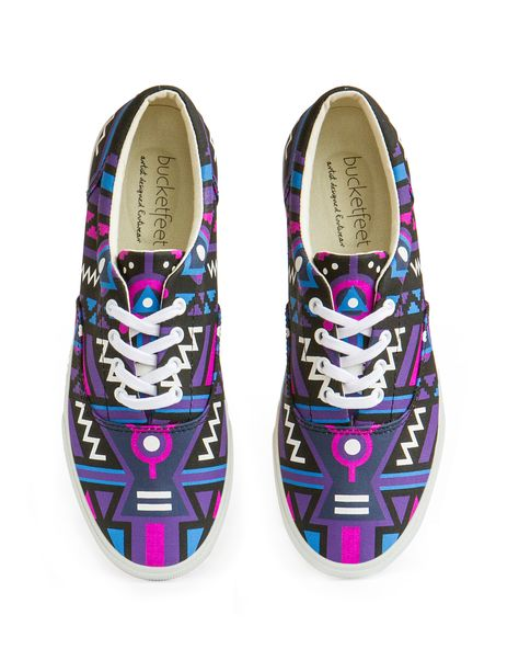 Petals Canvas Lace Up Sneaker   BucketFeet   BucketFeet   Pinterest   Style  scrapbook, Footwear and Summer