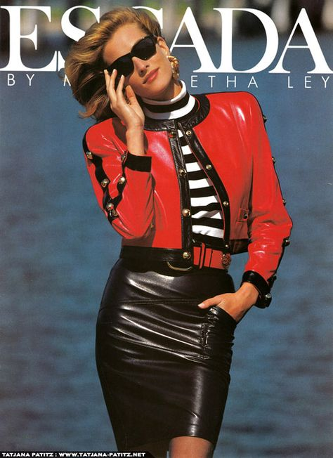 Tatjana Patitz Escada by Margaretha Ley Fashion Vintage & more details