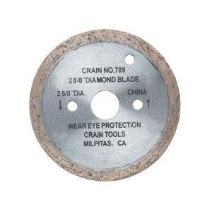 Crain 789 2 5 8 Diamond Saw Blade Blade Diamond Eye Protection