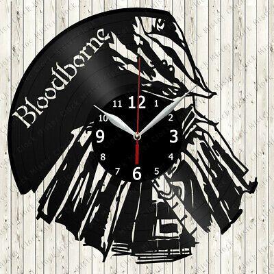 Bloodborne Vinyl Record Wall Clock Decor Handmade 6105 In 2020 Clock Wall Decor Clock Decor Record Wall Art