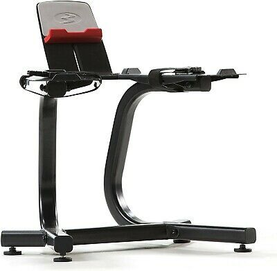 Bowflex Selecttech Dumbbell Stand With Media Rack Model Bowflex 100584 In Hand 708447910479 Ebay In 2020 Bowflex Media Rack Adjustable Weight Bench