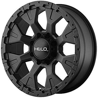 Amazon Com Helo He878 Wheel With Satin Black Finish 16x9 5x4 5 Helo Wheels Automotive Jeep Wheels Helo Wheels Black Wheels