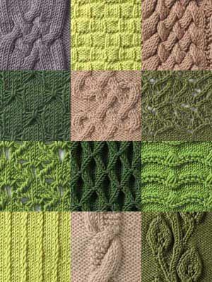 Stitch Gallery - Knit Stitches