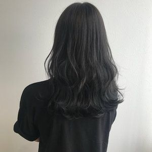 黒髪 アッシュでうるっうるの透明感ヘアに変身しましょ 2020
