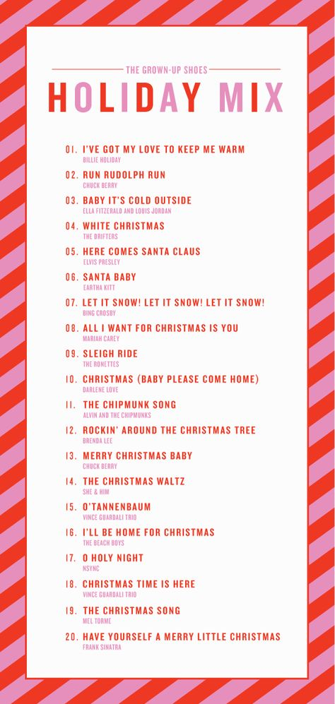 Grown-Up-Shoes Holiday Music Mix