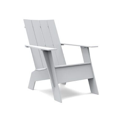 Loll Designs Tall Curved Plastic Adirondack Chair In 2019