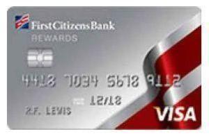 First Citizens Bank Credit Card Rewards First Citizens Bank