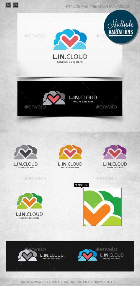 Love in Cloud - Logo Template
