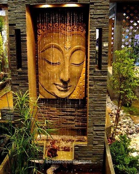 Insane Buddha Fountain Zen Garden Design Zen Garden Buddha