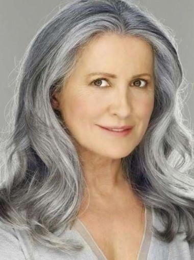Gray Wigs African Americans Best Styling Products For Gray Hair Silver In 2020 Grey Wig Silver Hair Hair Styles