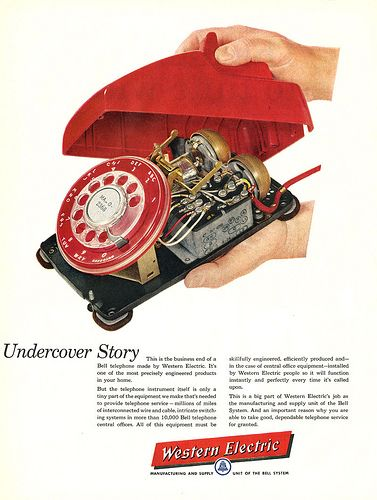 1957... phone guts!
