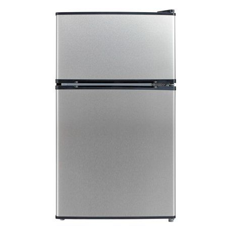 Emerson 3 1 Cu Ft Two Door Mini Fridge With Freezer Cr510bsse