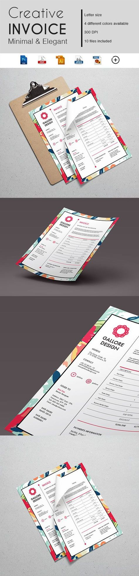 Gabellare   Not every business is the same, so make sure your marketing material leaves the right first impression.  Get in on the action and brand yourself with an amazing business template.