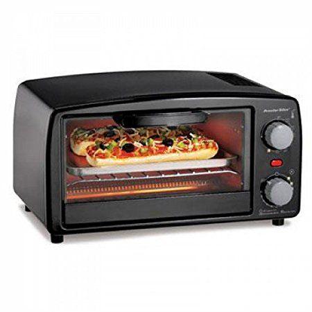 Proctor Silex Toaster Oven Broiler 4 Slice Large Black Review